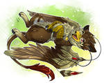 Kuschel miiiich!!!! [Commission by Pharaonenfuchs] by FireDragon7000