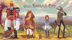 Gale's Emerald City - characters preview by moontown0125