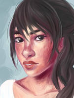 Face Sketch 6 by shycatgirl