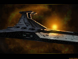 Star Wars Venator by LordDoomhammer