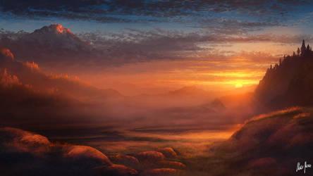 A Silent Dawn by LordDoomhammer