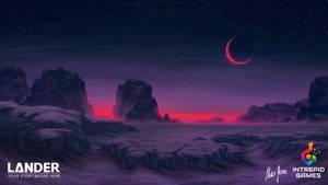 LANDER: Landscape Concept Art 01 by LordDoomhammer