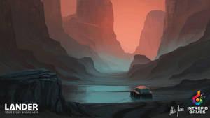 LANDER: Landscape Concept Art 02 by LordDoomhammer