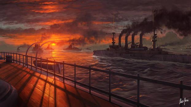 Entering Hostile Waters by LordDoomhammer