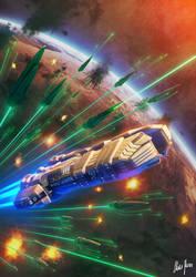 Gamma Strike: Legacy War Book 8 by LordDoomhammer