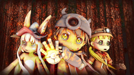 Made In Abyss (I ADORE this anime) by EpicMia13