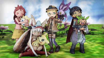 Made In Abyss Pokemon by EpicMia13