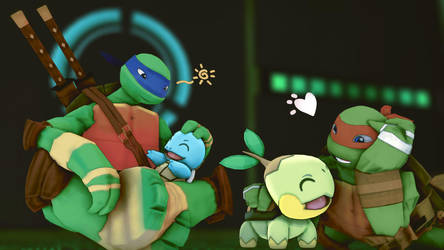 Did I mention I Love TMNT? by EpicMia13