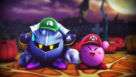 Kirby Made Him Dress Up by EpicMia13