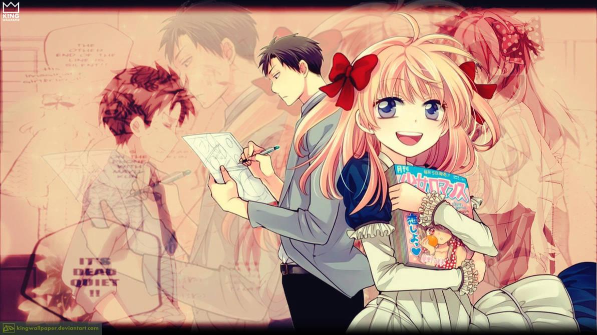 Gekkan Shoujo Nozaki Kun Wallpaper Kingwallpaper By Kingwallpaper