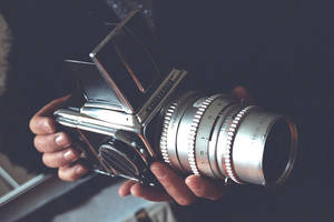 A Hasselblad by Enlaluz
