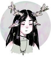 Deer by Mangochui
