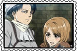 stamp: levi and petra by CogetaCats