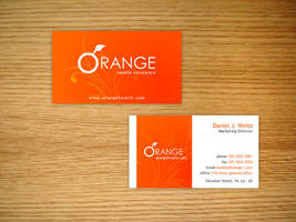 Orange - Health Insurance by daemonumbrae