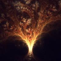 Ablaze by Cosmic-Cuttlefish