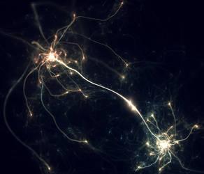Neural Bridge by Cosmic-Cuttlefish