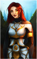 WOW: Leah Eastford [Commission] by LadyTheirin