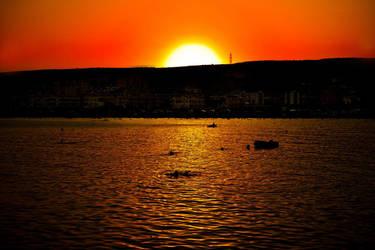 sunset by aytacgmsc