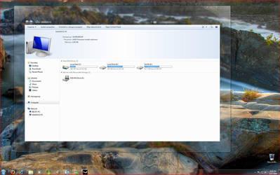 Windows 7 Desktop by maxpay