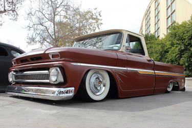 Lowered Chevy Pick Up by DrivenByChaos