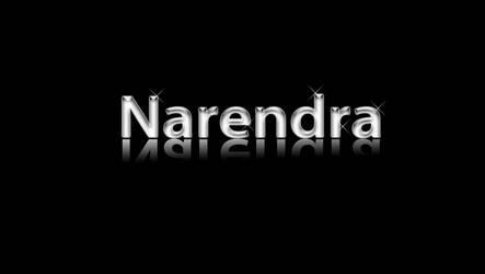 Narendra Text Design by narendraacs