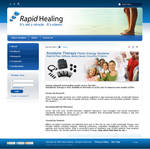 website - Rapid Healing by netpal