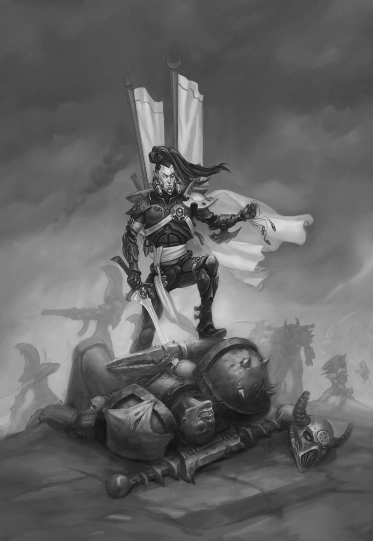 The Eldar: We Will Make It Ours by Sokil-Su