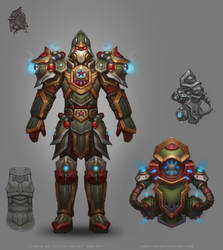 Allods Online: Old Imperial Armor by Sokil-Su