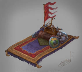 Allods Online: Warrior'sMagicCarpet by Sokil-Su