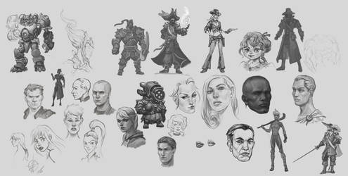 Sketches 2015 by Sokil-Su