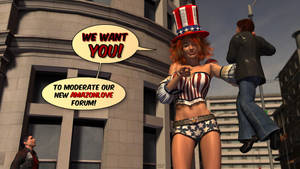 We want YOU for Amazonlove by gtslvr82