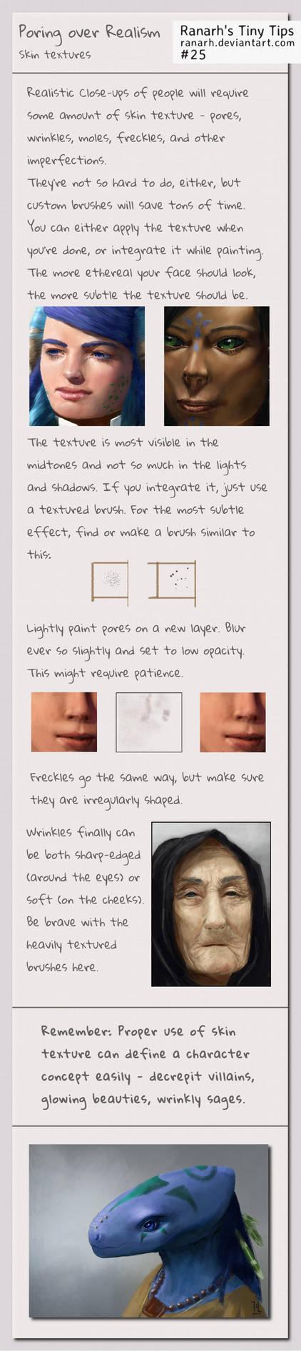Tiny Tips: Poring over realism by Ranarh
