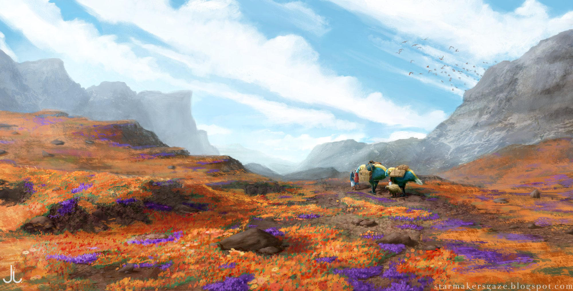 Yellow Forest Borderlands (repaint) by Ranarh