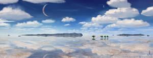Genius Loci: Salt flats by Ranarh