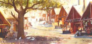 Rhoenoak: Principium Streets by Ranarh