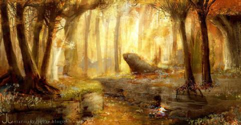 Genius Loci: Yellow forest by Ranarh