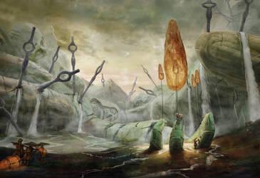 Giants' Well by Ranarh