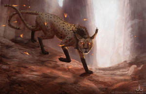 Rhoenoak: Soliterus Keeper Concept by Ranarh