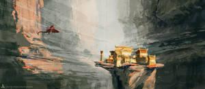 Selbour's Landing by Ranarh