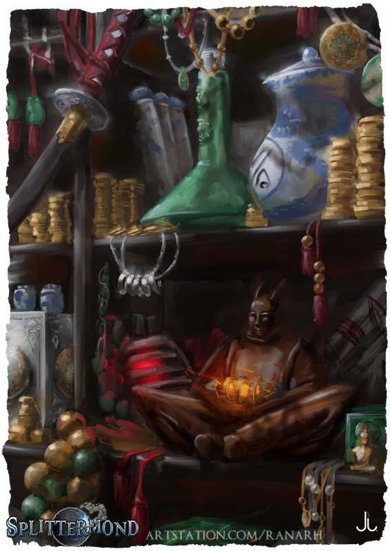 Splittermond - Artefaktkammer by Ranarh