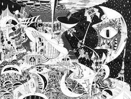 H Paranoia  STRANGE AND BEAUTIFUL WORLDS SERIES by jeremiahkauffman