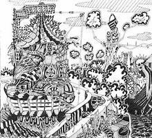 City 1 by JEREMIAH KAUFFMAN DIARY OF A CREATION by jeremiahkauffman
