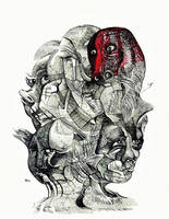 Untitled Drawing Mheads-1 (3) by jeremiahkauffman