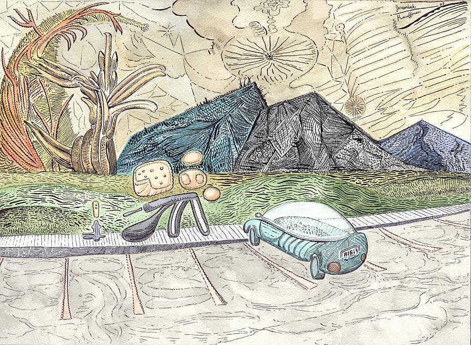 Mountain Creatures 2-lg by jeremiahkauffman