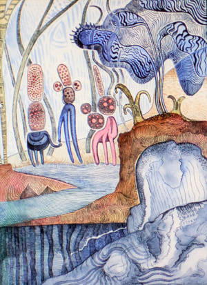 MOUNTAIN CREATURES by jeremiahkauffman