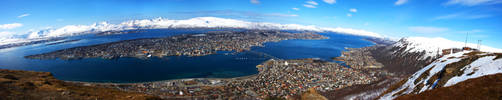 Tromso Panorama by nemeziz