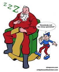 SleepCare Seasonal Serial Part 2: Santa Snooze by StardustDragon