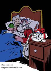 SleepCare Seasonal Serial Part 3: Early Present by StardustDragon