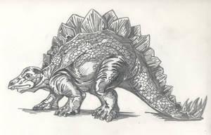 Stegosaurus by StardustDragon