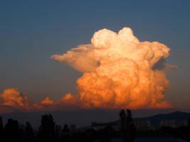The sky Above My City 1 by Aivaseda